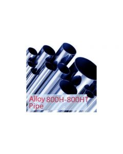 """Alloy 800 HT 1""""(33.40mm)NB x Sch40/40s(3.38mm) wall Pipe"""