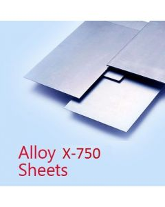Inconel / Alloy X-750 Sheet 1.4478mm Thick Sheet